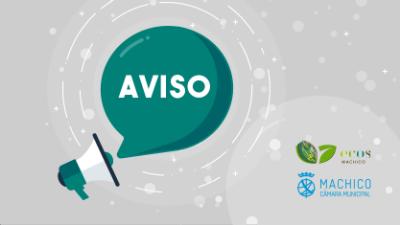 Aviso (ARM) - Interrupção no Abastecimento de Água