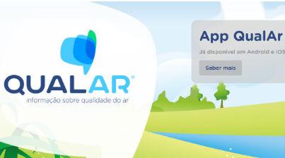 Qualidade do ar: nova aplicação para medir a qualidade do ar