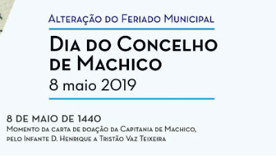 Dia do concelho de Machico: 8 de maio