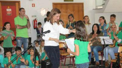 Hastear da Bandeira Eco-Escolas: Escola Básica Santos Costa