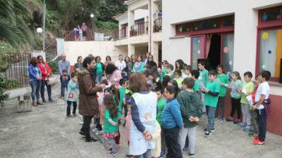 Hastear da Bandeira Eco-Escolas: EB do 1º Ciclo / PE dos Maroços