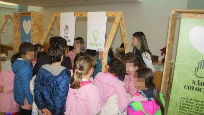 Campanha: Reciclar Faz bem ao Planeta! - Presente em Machico