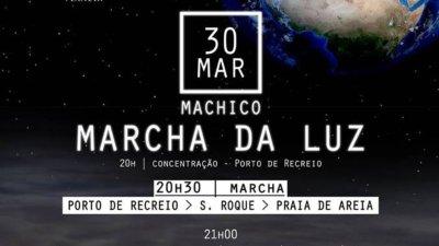 Hora do Planeta em Machico: 30 de março