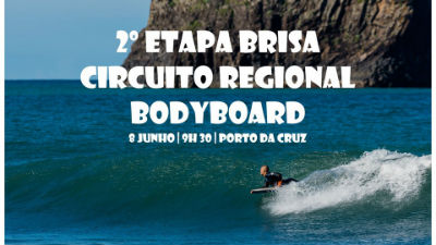 Bodyboard no Porto da Cruz: 2ª Etapa Brisa Circuito Regional