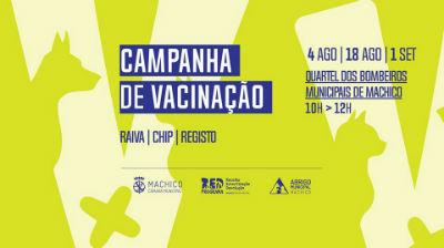 Campanha de Vacinação: Abrigo Animal de Machico